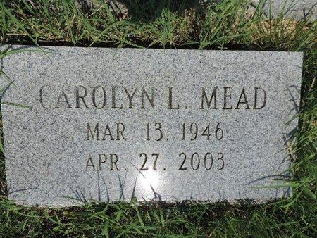 MEAD, CAROLYN L - Ross County, Ohio | CAROLYN L MEAD - Ohio Gravestone Photos
