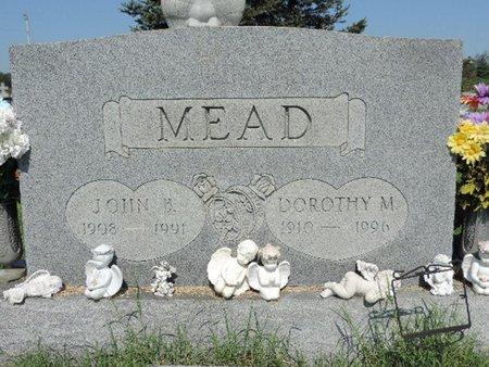 MEAD, JOHN  B. - Ross County, Ohio | JOHN  B. MEAD - Ohio Gravestone Photos