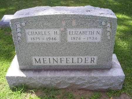MEINFELDER, ELIZABETH N. - Ross County, Ohio | ELIZABETH N. MEINFELDER - Ohio Gravestone Photos