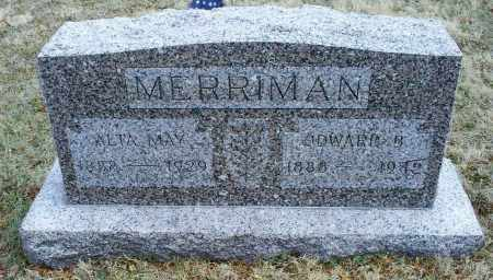 MAY MERRIMAN, ALTA - Ross County, Ohio | ALTA MAY MERRIMAN - Ohio Gravestone Photos