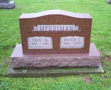 MERRIMAN, FRED M. - Ross County, Ohio | FRED M. MERRIMAN - Ohio Gravestone Photos