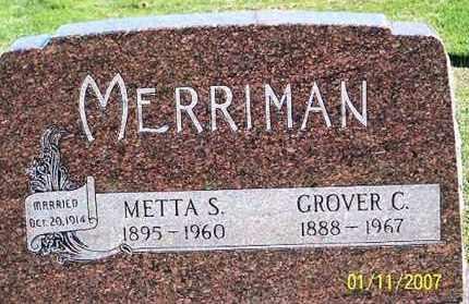 MERRIMAN, GROVER C. - Ross County, Ohio   GROVER C. MERRIMAN - Ohio Gravestone Photos