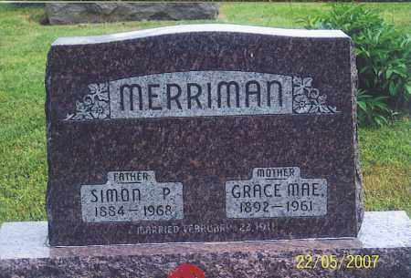 MERRIMAN, GRACE MAE - Ross County, Ohio | GRACE MAE MERRIMAN - Ohio Gravestone Photos