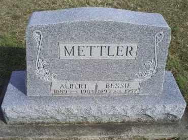 METTLER, ALBERT - Ross County, Ohio | ALBERT METTLER - Ohio Gravestone Photos