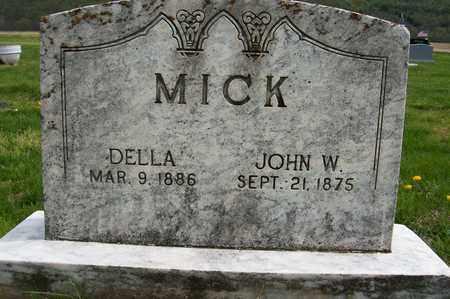MICK, DELLA - Ross County, Ohio | DELLA MICK - Ohio Gravestone Photos