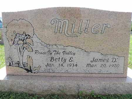 MILLER, BETTY E. - Ross County, Ohio | BETTY E. MILLER - Ohio Gravestone Photos