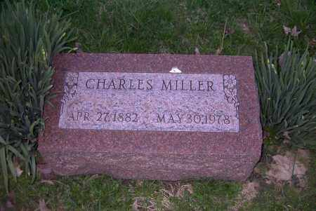 MILLER, CHARLES - Ross County, Ohio   CHARLES MILLER - Ohio Gravestone Photos