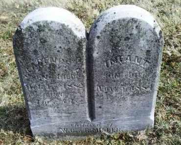 MILLER, INFANT - Ross County, Ohio | INFANT MILLER - Ohio Gravestone Photos