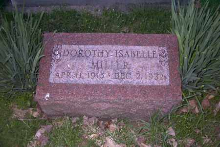 MILLER, DOROTHY ISABELLE - Ross County, Ohio   DOROTHY ISABELLE MILLER - Ohio Gravestone Photos