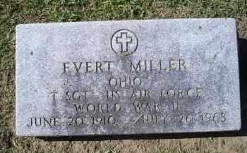 MILLER, EVERT - Ross County, Ohio   EVERT MILLER - Ohio Gravestone Photos