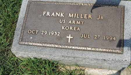 MILLER, FRANK - Ross County, Ohio | FRANK MILLER - Ohio Gravestone Photos