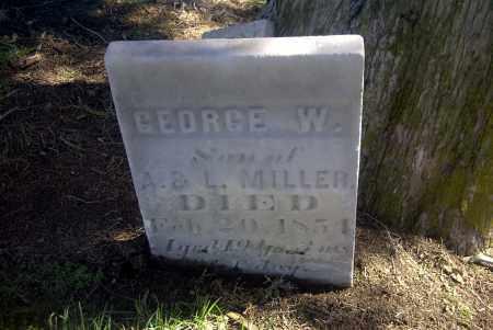 MILLER, GEORGE W. - Ross County, Ohio | GEORGE W. MILLER - Ohio Gravestone Photos