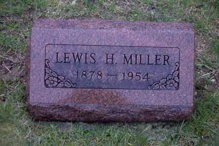 MILLER, LEWIS H. - Ross County, Ohio   LEWIS H. MILLER - Ohio Gravestone Photos