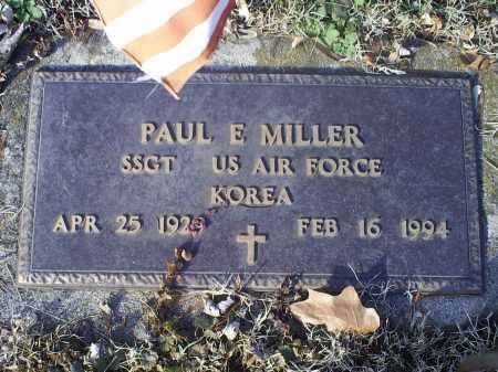 MILLER, PAUL E. - Ross County, Ohio | PAUL E. MILLER - Ohio Gravestone Photos