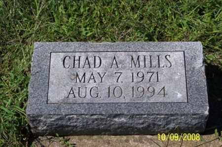 MILLS, CHAD A. - Ross County, Ohio | CHAD A. MILLS - Ohio Gravestone Photos