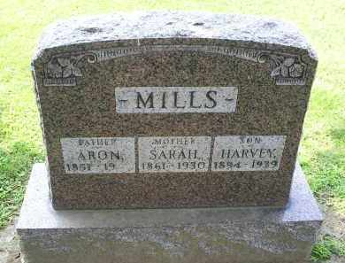 MILLS, HARVEY - Ross County, Ohio | HARVEY MILLS - Ohio Gravestone Photos