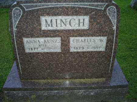 MINCH, ANNA - Ross County, Ohio | ANNA MINCH - Ohio Gravestone Photos