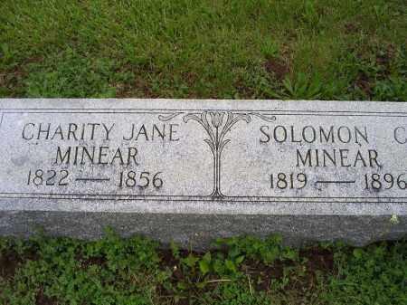 MINEAR, SOLOMAN C. - Ross County, Ohio | SOLOMAN C. MINEAR - Ohio Gravestone Photos