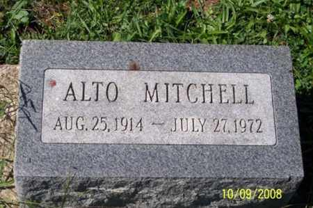 MITCHELL, ALTO - Ross County, Ohio | ALTO MITCHELL - Ohio Gravestone Photos