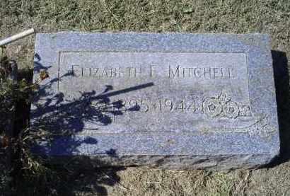 MITCHELL, ELIZABETH E. - Ross County, Ohio   ELIZABETH E. MITCHELL - Ohio Gravestone Photos