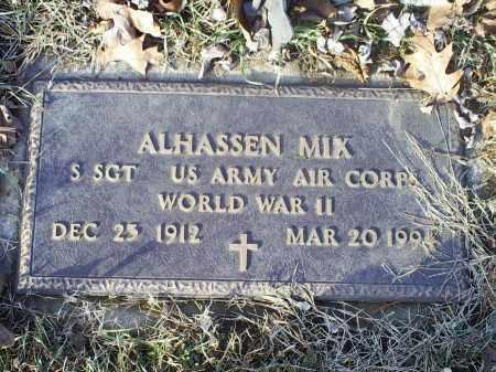 MIX, ALHASSEN - Ross County, Ohio | ALHASSEN MIX - Ohio Gravestone Photos