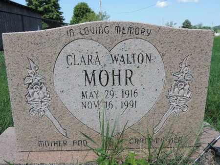 WALTON MOHR, CLARA - Ross County, Ohio | CLARA WALTON MOHR - Ohio Gravestone Photos