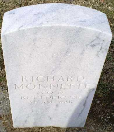 MONNETTE, RICHARD - Ross County, Ohio | RICHARD MONNETTE - Ohio Gravestone Photos