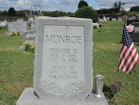 MONROE, MARY M. - Ross County, Ohio   MARY M. MONROE - Ohio Gravestone Photos