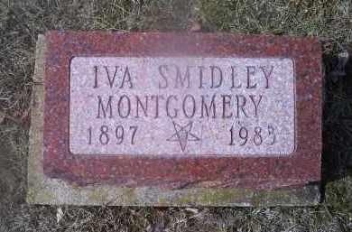 MONTGOMERY, IVA SMIDLEY - Ross County, Ohio   IVA SMIDLEY MONTGOMERY - Ohio Gravestone Photos