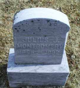 MONTGOMERY, JULIUS J. - Ross County, Ohio | JULIUS J. MONTGOMERY - Ohio Gravestone Photos