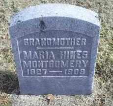 MONTGOMERY, MARIA - Ross County, Ohio | MARIA MONTGOMERY - Ohio Gravestone Photos