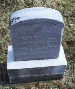 MONTGOMERY, MARY E. - Ross County, Ohio   MARY E. MONTGOMERY - Ohio Gravestone Photos