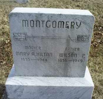 MONTGOMERY, WILSON P. - Ross County, Ohio | WILSON P. MONTGOMERY - Ohio Gravestone Photos