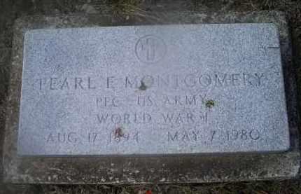 MONTGOMERY, PEARL E. - Ross County, Ohio | PEARL E. MONTGOMERY - Ohio Gravestone Photos