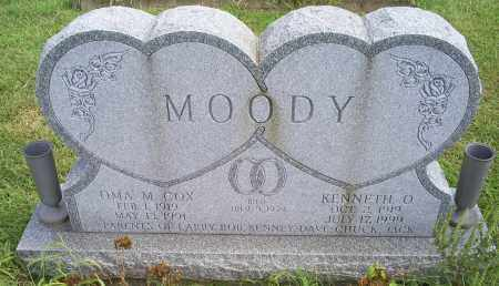 COX MOODY, OMA MAE - Ross County, Ohio | OMA MAE COX MOODY - Ohio Gravestone Photos