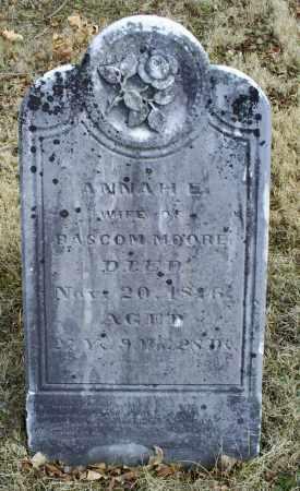 MOORE, ANNAH E. - Ross County, Ohio   ANNAH E. MOORE - Ohio Gravestone Photos