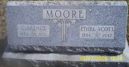 MOORE, CLARENCE - Ross County, Ohio | CLARENCE MOORE - Ohio Gravestone Photos