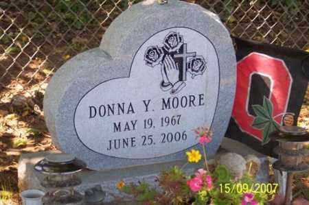 MOORE, DONNA Y. - Ross County, Ohio | DONNA Y. MOORE - Ohio Gravestone Photos