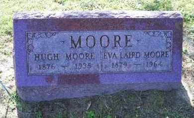 MOORE, HUGH - Ross County, Ohio | HUGH MOORE - Ohio Gravestone Photos