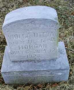 MORGAN, VIOLET UTEVA - Ross County, Ohio | VIOLET UTEVA MORGAN - Ohio Gravestone Photos