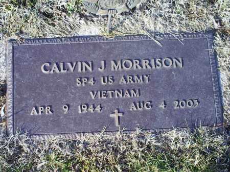 MORRISON, CALVIN J. - Ross County, Ohio   CALVIN J. MORRISON - Ohio Gravestone Photos