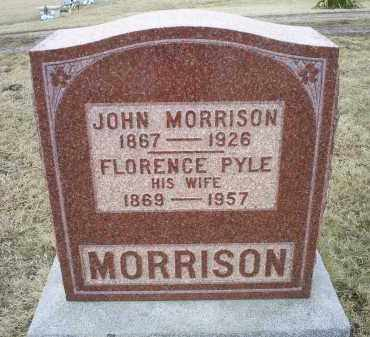 MORRISON, FLORENCE - Ross County, Ohio | FLORENCE MORRISON - Ohio Gravestone Photos