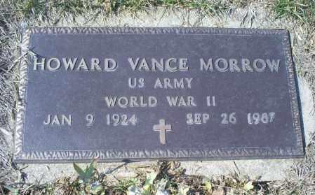 MORROW, HOWARD VANCE - Ross County, Ohio | HOWARD VANCE MORROW - Ohio Gravestone Photos
