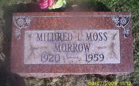 MOSS MORROW, MILDRED L. - Ross County, Ohio | MILDRED L. MOSS MORROW - Ohio Gravestone Photos