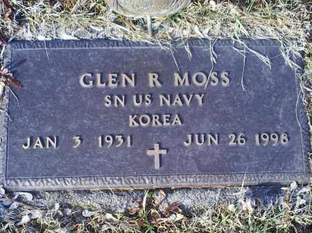 MOSS, GLEN R. - Ross County, Ohio | GLEN R. MOSS - Ohio Gravestone Photos