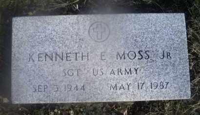 MOSS, KENNETH E. JR. - Ross County, Ohio   KENNETH E. JR. MOSS - Ohio Gravestone Photos