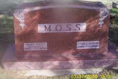 MOSS, MARY ELLEN - Ross County, Ohio | MARY ELLEN MOSS - Ohio Gravestone Photos