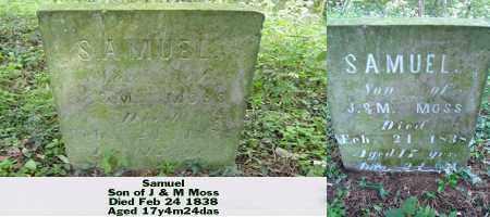 MOSS, SAMUEL - Ross County, Ohio   SAMUEL MOSS - Ohio Gravestone Photos
