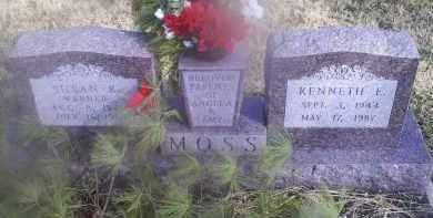 WARNER MOSS, SUSAN K. - Ross County, Ohio | SUSAN K. WARNER MOSS - Ohio Gravestone Photos