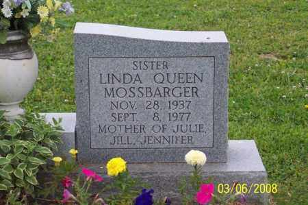 MOSSBARGER, LINDA - Ross County, Ohio | LINDA MOSSBARGER - Ohio Gravestone Photos